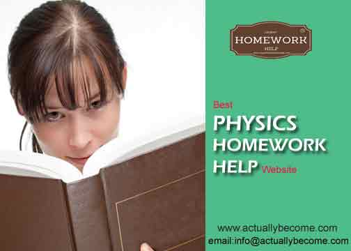 Physics Homework Help Website